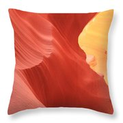Glow Under The Desert Floor Throw Pillow