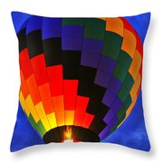 Glowing At Dusk Throw Pillow