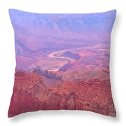 Glowing Colors Of The Grand Canyon Throw Pillow