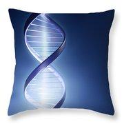 Dna Technology Throw Pillow
