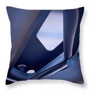 Glowing Elegance Throw Pillow