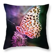 Glowing In The Dark Throw Pillow