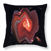 Glowing Lines Throw Pillow