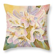 Glowing Once Glowing Twice Throw Pillow