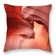 Glowing Passage Throw Pillow