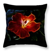 Glowing Within Throw Pillow