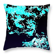 Glub Throw Pillow