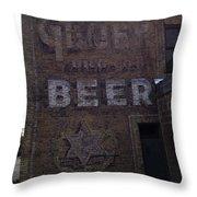 Gluek Beer Throw Pillow
