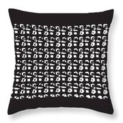 Glyphs 15 Phone Case Throw Pillow