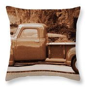 Gmc 100 Throw Pillow