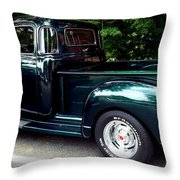 Gmc Classic Truck Throw Pillow