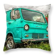Gmc Van Throw Pillow