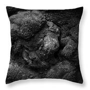 Gnarled Number 2 Throw Pillow