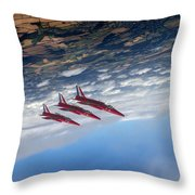 Gnats Inverted Throw Pillow
