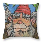 Gnome 2 Throw Pillow