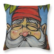 Gnome 5 Throw Pillow