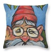 Gnome 6 Throw Pillow