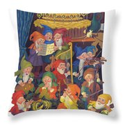Gnomes Throw Pillow