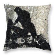 Go And Sin No More Throw Pillow