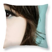 Go Ask Alice I Think She'll Know Throw Pillow