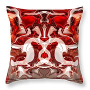 Go Cougs Throw Pillow by Omaste Witkowski