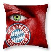 Go Fc Bayern Munchen Throw Pillow