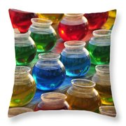Go Fish 2 Throw Pillow