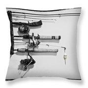 Go Fish - Art Unexpected Throw Pillow