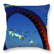 Go Fly A Kite 2 Throw Pillow