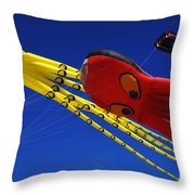 Go Fly A Kite 6 Throw Pillow