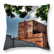 Go In Peace Throw Pillow