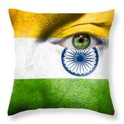 Go India Throw Pillow