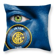 Go Inter Milan Throw Pillow