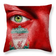 Go Liverpool Fc Throw Pillow