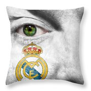 Go Real Madrid Throw Pillow