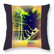 Hopefully We Will Go Sailing Tomorrow Throw Pillow