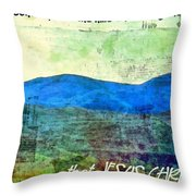Go Tell It On The Mountain Throw Pillow