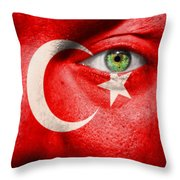 Go Turkey Throw Pillow