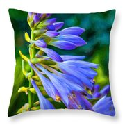 Go With The Flow - Paint Throw Pillow
