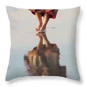 Goa Reflections  Throw Pillow