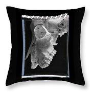 Goat Skull Detail Throw Pillow