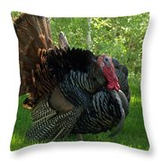 Gobble Gobble Throw Pillow