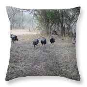 Gobblers Throw Pillow