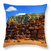 Goblin Valley Pano Throw Pillow