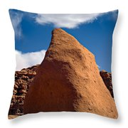Goblin Valley Throw Pillow by Tomasz Dziubinski