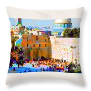 God Is Everywhere Throw Pillow