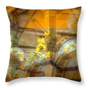 God Is In The Detail Throw Pillow