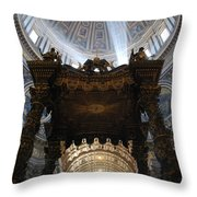 God Lighting The Way Throw Pillow