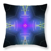 God Particle Throw Pillow