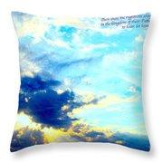 God Shine #2 Throw Pillow